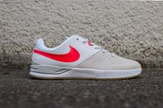 NIKE SB PROJECT BA (BEIGE/LASER CRIMSON) | Sneaker Freaker