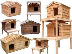 Outdoor cat house design