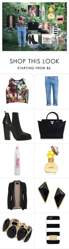 """""""Wednesday Walking To Wok"""" by melush ❤ liked on Polyvore featuring Milly, A Gold E, Jeffrey Campbell, Marc Jacobs, SLY 010, Belle Noel by Kim Kardashian, Dorothy Perkins and MICHAEL Michael Kors"""