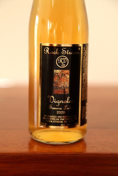 Seneca Lakes best white port has flavors of honey, pineapple, passion fruit and melon. 18% alcohol and 10% residual sugar.