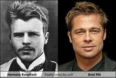 Hermann Rorschach: Keeping psychology sexy since the 1800's ;)