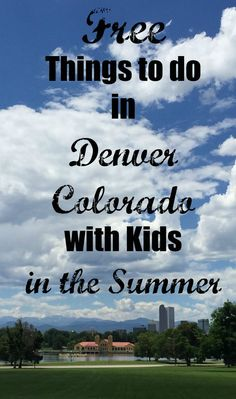 Having raised my kids here, I do know of a few fun – FREE – ways to keep kids entertained. Here are some of my favorite free things to do in Denver with kids in the summer; City Park Playground and Water Fountain, REI and Confluence Park, and Red Rocks and Dinosaur Ridge.