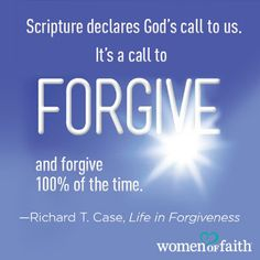 Have you signed up yet? We're giving away 5 copies of our book of the month, Life in Forgiveness. You can enter for a chance to win here http://www.womenoffaith.com/sweeps