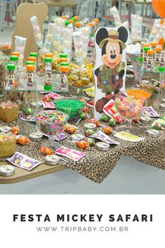 Lembrancinhas Festa de 1 ano, tema Mickey Safari Children, Kids, Blog, Fiestas, World, Young Children, Young Children, Boys, Boys