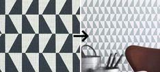 Wallpaper designed by Arne Jacobsen