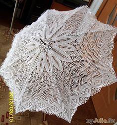 Зонт спицами. Красота!