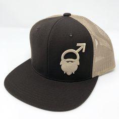 6817996a Fresh Beards 3D Logo Wool SnapBack Beard Logo, Beard Hat, 3d Logo, Snapback