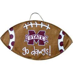 Mississippi State Bulldogs Football Burlee Wall Hanging  @Fanatics    #FanaticsWishList