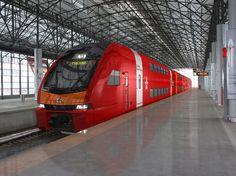 Двухэтажные поезда в Москве появятся с 2015 года
