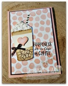 Frappe Happiness with Embossing Paste from Leonie Schroder Independent Stampin' Up! Demonstrator Australia