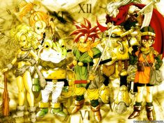 Chrono Trigger! Chrono Trigger, Mobile Wallpaper, Bowser, Geek Stuff, Awesome, Anime, Painting, Fictional Characters, Desktop