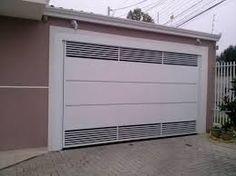 Resultado de imagem para tamanho de portão para garagem
