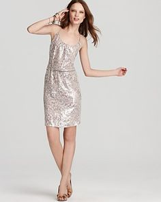 Rebecca Taylor Dress - Sequin Leopard