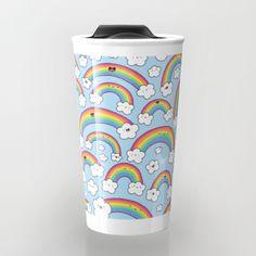 Rainbows Everywhere! Travel Mug