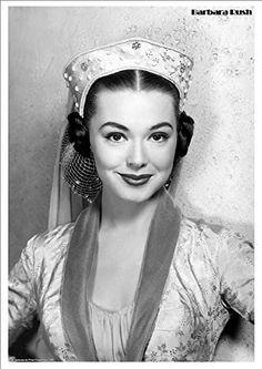 Barbara Rush - Hollywood Screen Legend - Wonderful A4 Glossy Print by Vintage Portraits http://www.amazon.co.uk/dp/B016A6J1FW/ref=cm_sw_r_pi_dp_ldtfwb1Q2J002