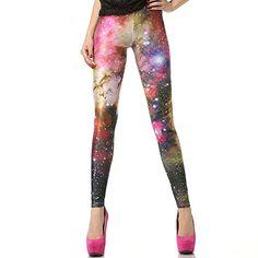 Crazy Leggings, Yoga Leggings, High Fashion, Women's Fashion, Fashion Design, Galaxy Leggings, Galaxy Print, Roller Derby, Jumpsuits