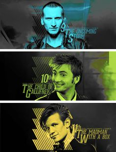The Doctor: The Oncoming Storm, The Child of Gallifrey, The Madman With a Box