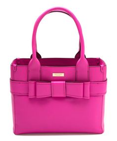 This Stunning Pink Quinn Villabella Leather Tote is perfect! #zulilyfinds