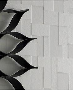 Checker (Nonwoven): White wallpaper Anaglypta Wallpaper, Stone Wallpaper, White Wallpaper, Cheap Wallpaper, Painting Wallpaper, Wallpaper Ideas, Brick And Stone, Simple House, Designer Wallpaper