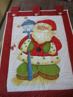 Flávia-Panô natal Fabric Painting, Halloween, Ems, Quilts, Christmas, Cold Porcelain, Christmas Charts, Painting On Fabric, Craft Ideas