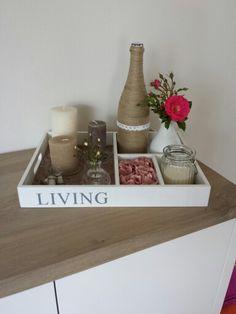 Letterbak op tafel.. decoratie