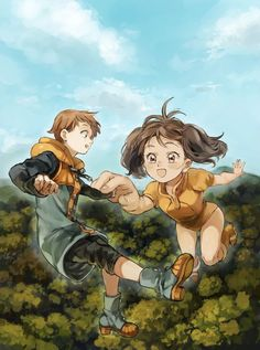 rey y diane - Seven deadly sins - Anime Manga Anime, Otaku Anime, Anime Naruto, Anime Seven Deadly Sins, 7 Deadly Sins, Anime Angel, Animé Fan Art, 7 Sins, Seven Deady Sins