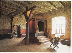 Inside Burg Eltz Castle, Germany: Fifteenth Century, Castle Bedroom