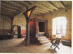 Inside Burg Eltz Castle, Germany: Fifteenth Century, Castle Bedroom