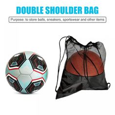 Sports Shoes, Sports Bags, Soccer Ball, Basketball, Ball Storage, Volleyball, Pouch, Football, Organization