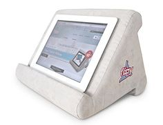 http://casimclean.com/authors-corner/shop/ Looking for a super functional stand that is more like a pillow than a piece of hardware? Flipy is the answer! Three Awesome Angles: Flipy has three angles and does the work of supporting your device no matter what position you are in...