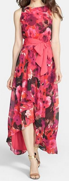 Gorgeous high/lo chiffon dress http://rstyle.me/n/hxdavnyg6