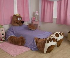 Would it be weird to sleep in a bear bed every night?