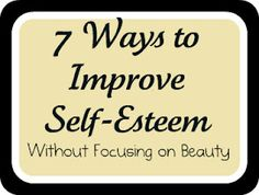 7 Ways to Improve Self-Esteem and Confidence in Your Kid.  Love this list, such easy ways to have a big impact on your child.