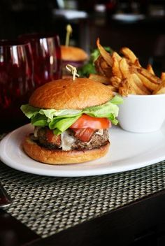 The burger at Michael's Genuine in Miami is prepared from fresh beef chuck that is ground daily.