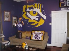 1000 Images About Man Cave On Pinterest Lsu Tigers Lsu