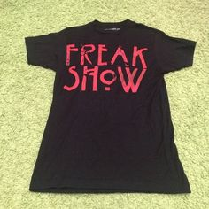 American Horror Story Shirt American Horror Story Freak Show tee. Size XS but can also fit Small. Tops Tees - Short Sleeve