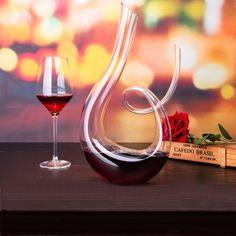 Unique Glass Wine Decanter.