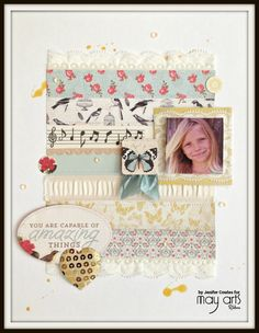 Stitch~Cut~Create : Amazing-May Arts/Authentique hop