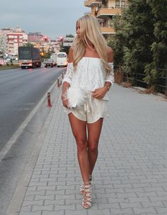 TOP: http://www.glamzelle.com/products/boho-white-lace-off-the-shoulder-top