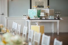 Photography: Maya Myers Photography - mayamyers.com  Read More: http://www.stylemepretty.com/living/2014/01/06/smp-living-graphic-print-inspired-baby-shower/