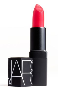 How fun is this bright pop of lip color? Can't wait to try this bold shade during summer.