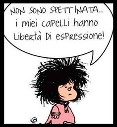 Mafalda spettinata