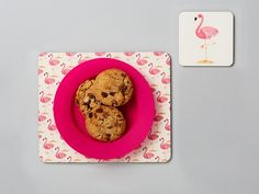 Easter decorations easter cups easter basket gifts easter mugs flamingo placemat and coaster set kids easter gifts flamingo gift toddler gift negle Images