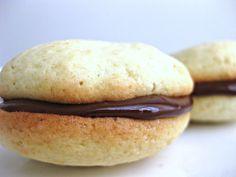 Vanilla Whoopie Pies with Chocolate Ganache