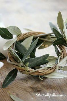 Olive Wreath ~ letrecivette