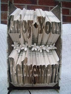 Book Fold Art - Retirement - Enjoy Your Retirement by CreationsByMEx on Etsy