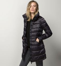 TAILORED QUILTED PARKA