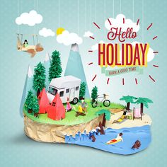 Hello Holiday on Behance