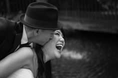 Fun wedding pictures- bride and groom being silly.  http://poppyandjune.com/2015/08/13/real-wedding-grace-dan/