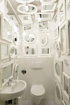 Like a billion mirrors